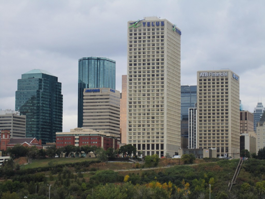 Edmonton, Alberta. Exciting city in the heart of petroleum culture. Photo by Rebecca Lawton