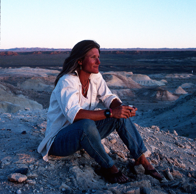 Christa Sadler in Mongolia. Photo courtesy of author.